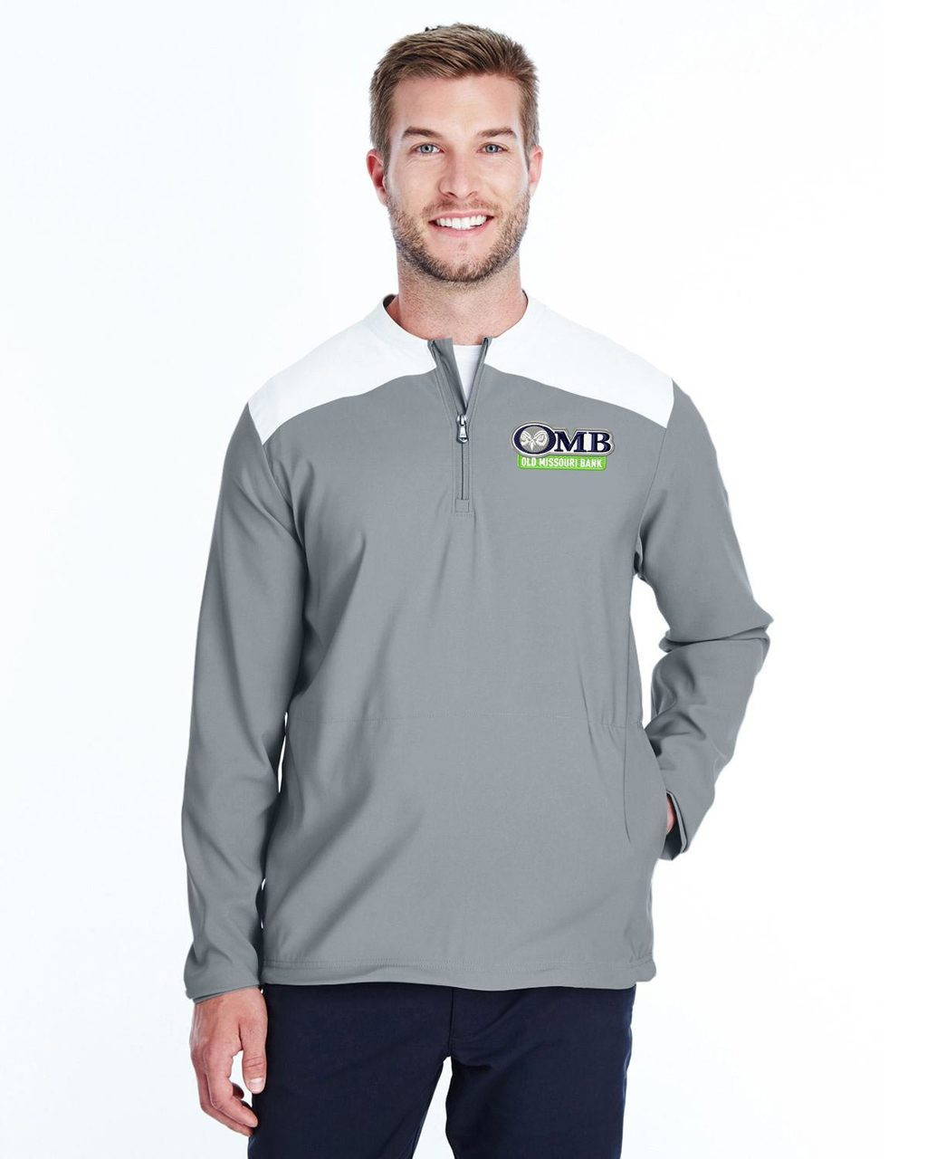 390f5c188 ... OMB Mens UNDER ARMOUR Corporate Triumph Cage Quarter Zip Pullover -  NEW! Loading zoom
