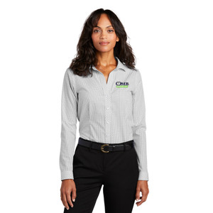 OMB LADIES Red House ® Open Ground Check Non-Iron Shirt