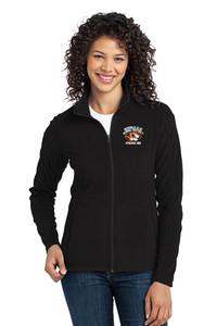 STRIPES 360 - LADIES Classic Fleece Full Zip Jacket - Black