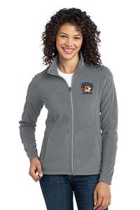 STRIPES 360 - LADIES Classic Fleece Full Zip Jacket - Pearl Grey