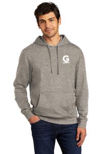 Gutterglove® FLC WHITE G - Premium Unisex Hoodie - Grey Frost