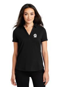 Gutterglove® EMBROIDERED FLC WHITE G - OGIO® Ladies Polo - Black