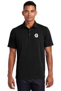 Gutterglove® EMBROIDERED FLC WHITE & RED G - OGIO® Unisex Polo - Black