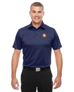 MOCIC Mens Under Armour® Tech Polo - Navy/Royal