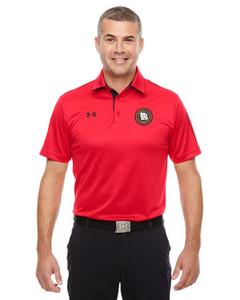 MOCIC Mens Under Armour® Tech Polo - Red/Black