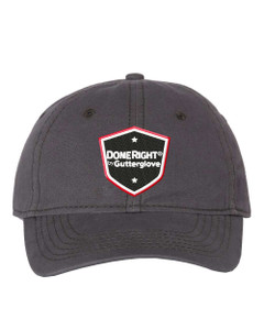"""Gutterglove® EMBROIDERED DONERIGHT® - """"Dad"""" Cap - Charcoal"""