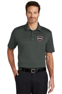 Gutterglove® EMBROIDERED DONERIGHT® - TALL Performance Unisex Polo - Dark Grey