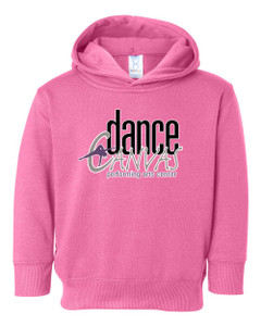 Dance Canvas TODDLER Hoodie - Raspberry
