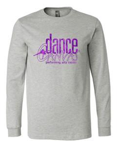 Dance Canvas FOIL Unisex Premium Long Sleeve Tee - Athletic Heather