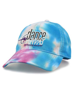 Dance Canvas EMBROIDERED LOGO Tie Dye Cap - Pastel