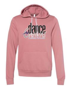 Dance Canvas LOGO Unisex Premium Hoodie - Mauve