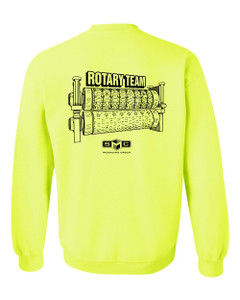 SMC Packaging Group ROTARY TEAM Sweatshirt - Safety Green