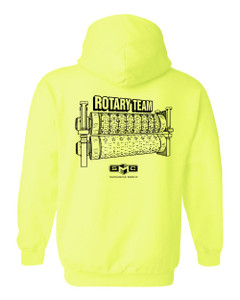 SMC Packaging Group ROTARY TEAM Hoodie - Safety Green