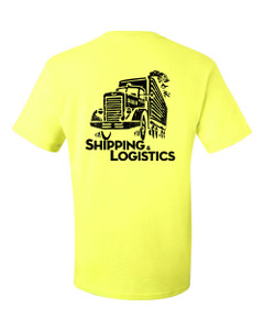SMC Packaging Group SHIPPING & LOGISTICS Tee - Safety Green