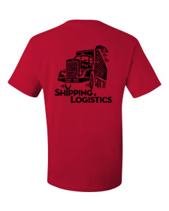 SMC Packaging Group SHIPPING & LOGISTICS Tee - Red