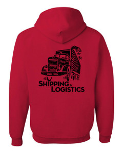 SMC Packaging Group SHIPPING & LOGISTICS Hoodie - Red
