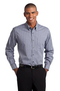 Meeks Port Authority® Tattersall Easy Care Shirt
