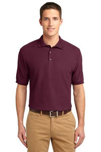 Meeks Port Authority® Silk Touch™ Polo