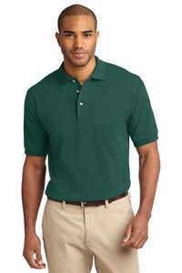 Meeks Port Authority® Heavyweight Cotton Pique Polo