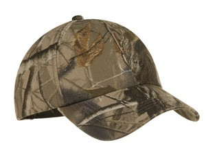 Meeks Port Authority® Camouflage Garment-Washed Cap