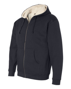 Meeks Independent Trading Co. Sherpa Lined Full-Zip Hoodie