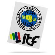 Both ITF Logos Sticker