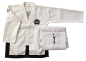 Fully embroidered traditional ITF uniform