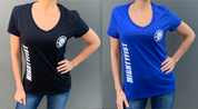 "I ""heart"" TAEKWON-DO Women's V-Neck T-Shirts"