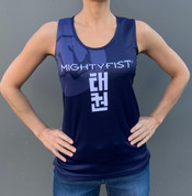 MIGHTYFIST Sublimated Tank-Tops - Blue