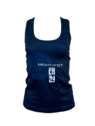 Women Dry-Fit Tank-Top in Blue