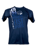 Men Dry-Fit T-Shirt in Blue