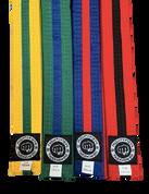 Striped Color Belts