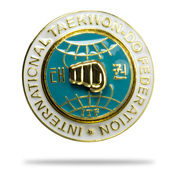 ITF Black Belt Lapel Pin
