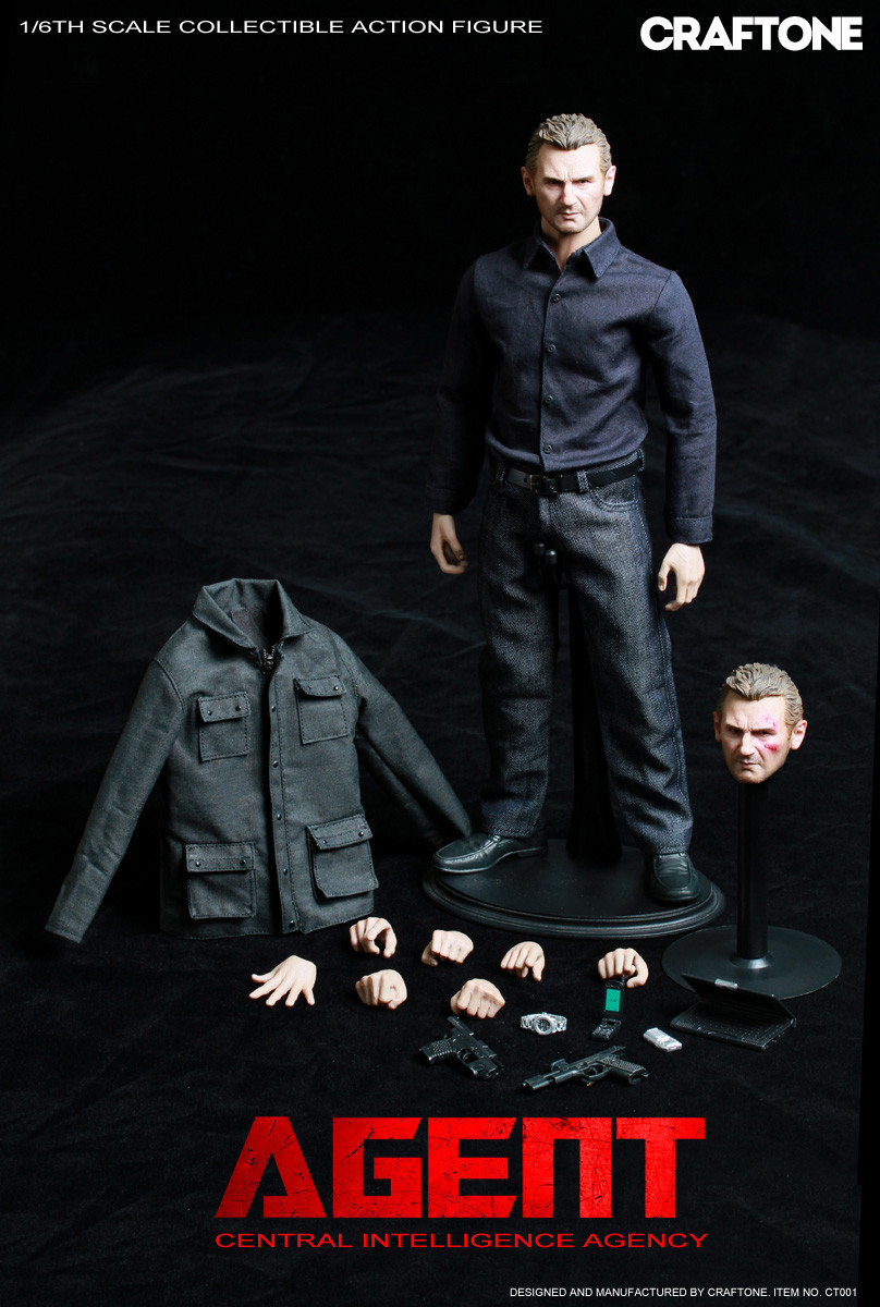 Ct 001 Craftone Agent Collectible 1 6 Action Figure