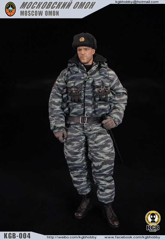 Kgb 004 Kgb Hobby Moscow Omon Police Action Figure