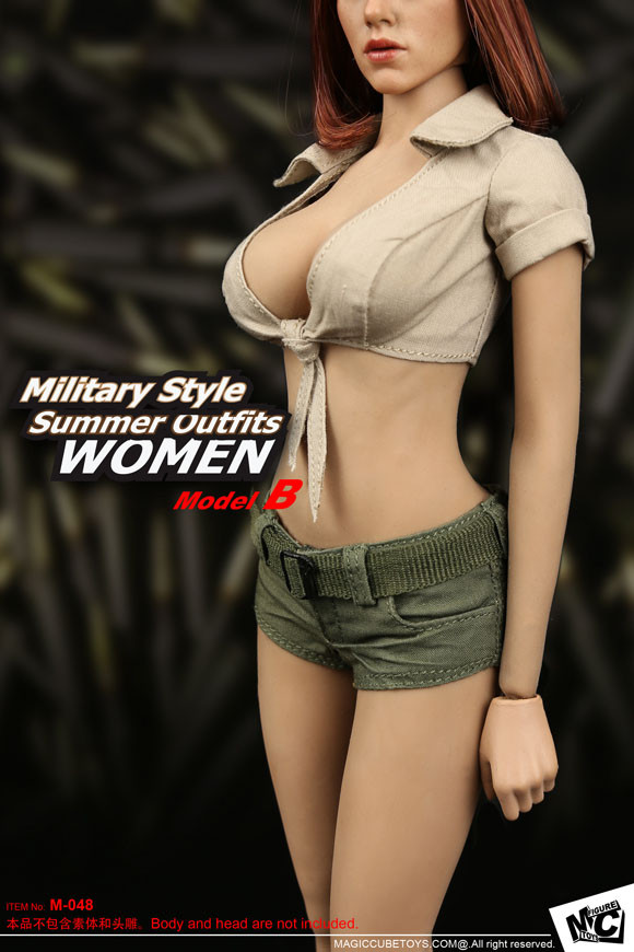 Mc-F048B Mc Toys Military Style Summer Outfits For Women -3294