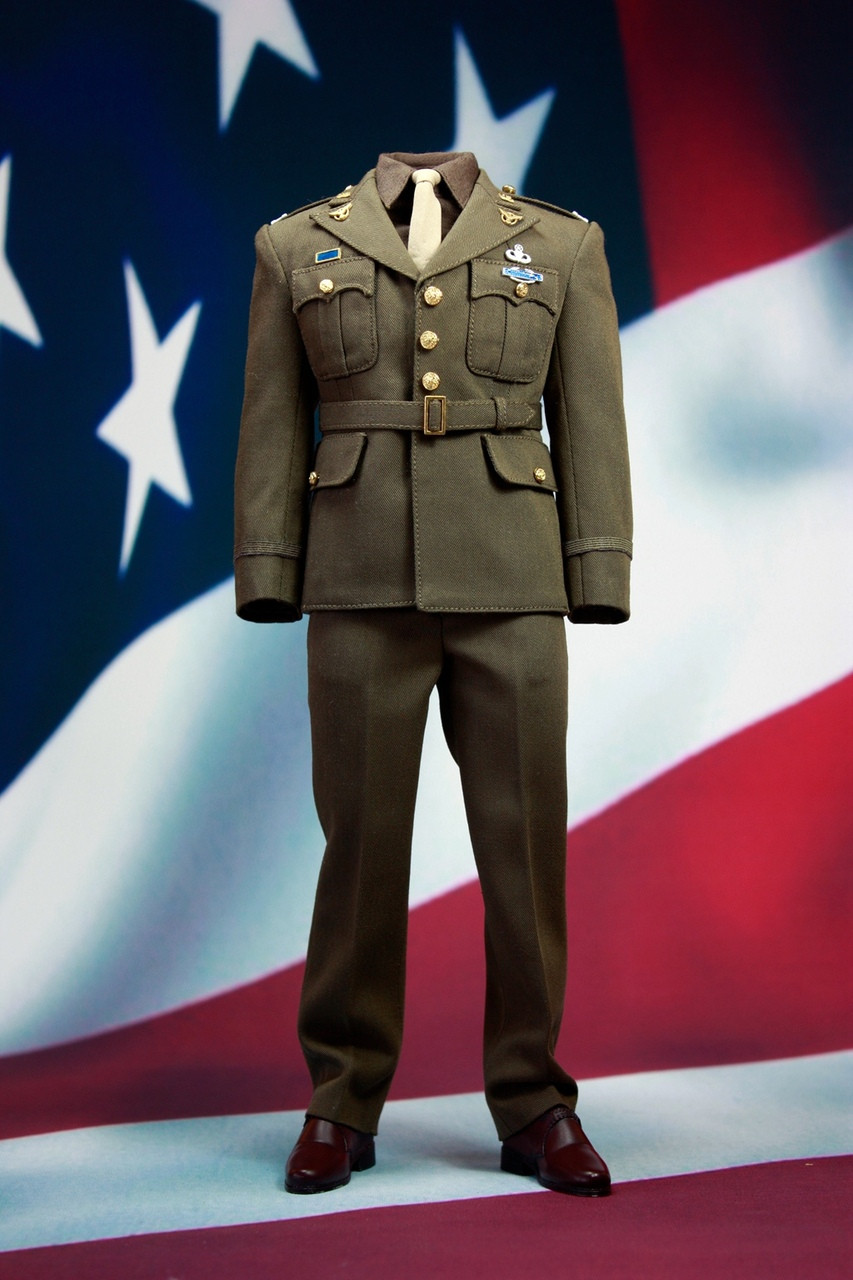 Pop X19a Pop Toys Wwii Us Army Officer Uniform Set A In