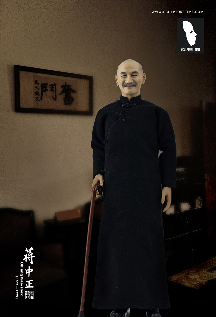 St 008 Sculpture Time Chiang Kai Shek Premium Version