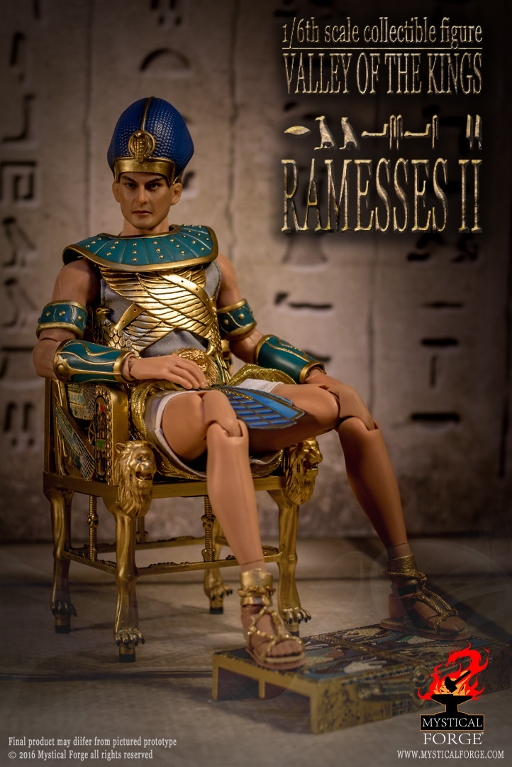 Mf 002 Mystical Forge Valley Of The Kings Quot Ramessess Ii