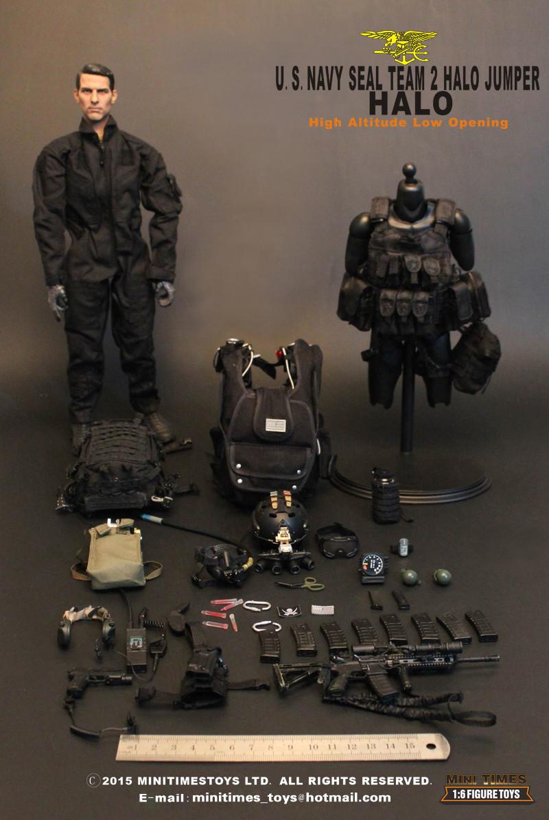 Mt M001 Mini Times Toys U S Navy Seal Team 2 Halo