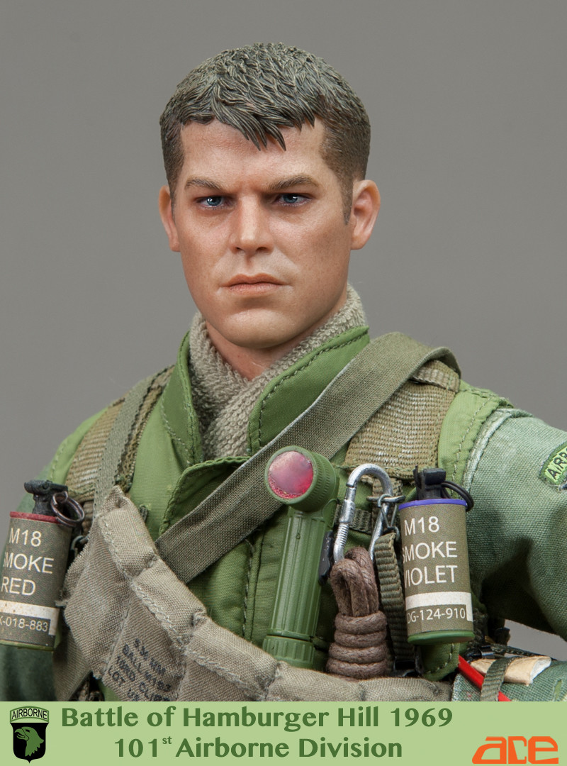 [ACE-13023] ACE Vietnam Era Battle of Hamburger Hill 1969 101st Airborne  Division