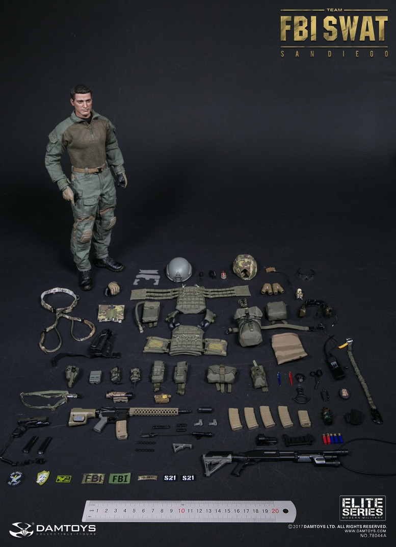 VBSS Team Commander Green Harness Set 1//6 Scale Damtoys Action Figures
