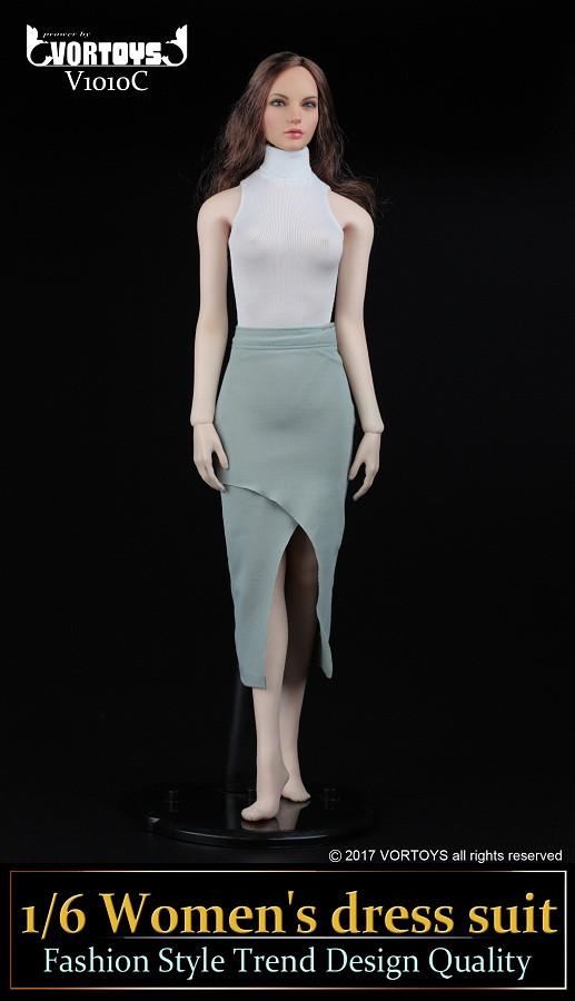 White Turtleneck Dress