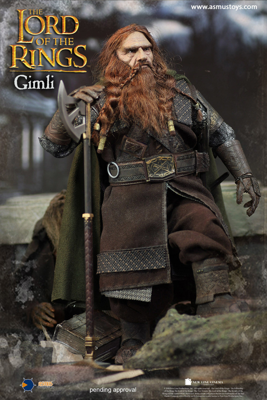 Asmus Toys 1//6 LOTR018 The Lord of The Rings Series Gimli Single Sided Long Axe