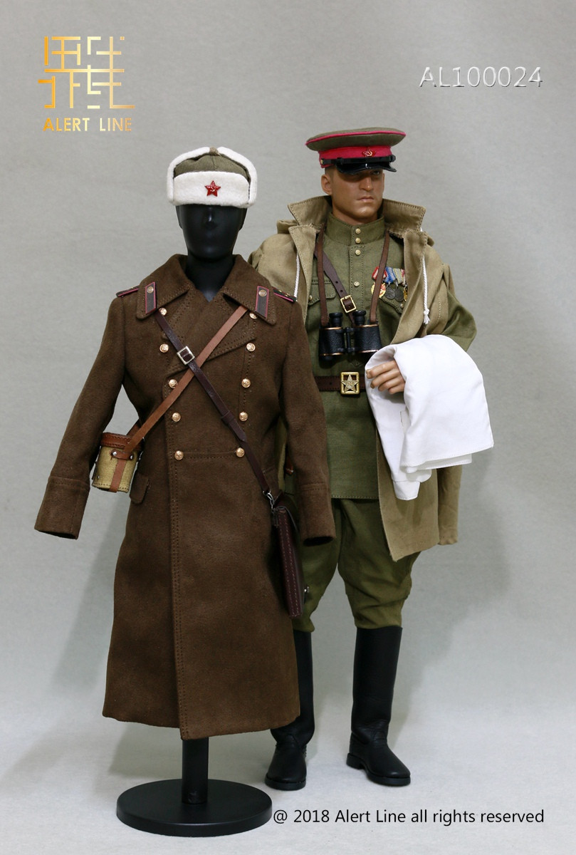 Alert Line 1//6 WWII 1942 Red Army Infantry Lieutenant Soldier Clothes AL10002