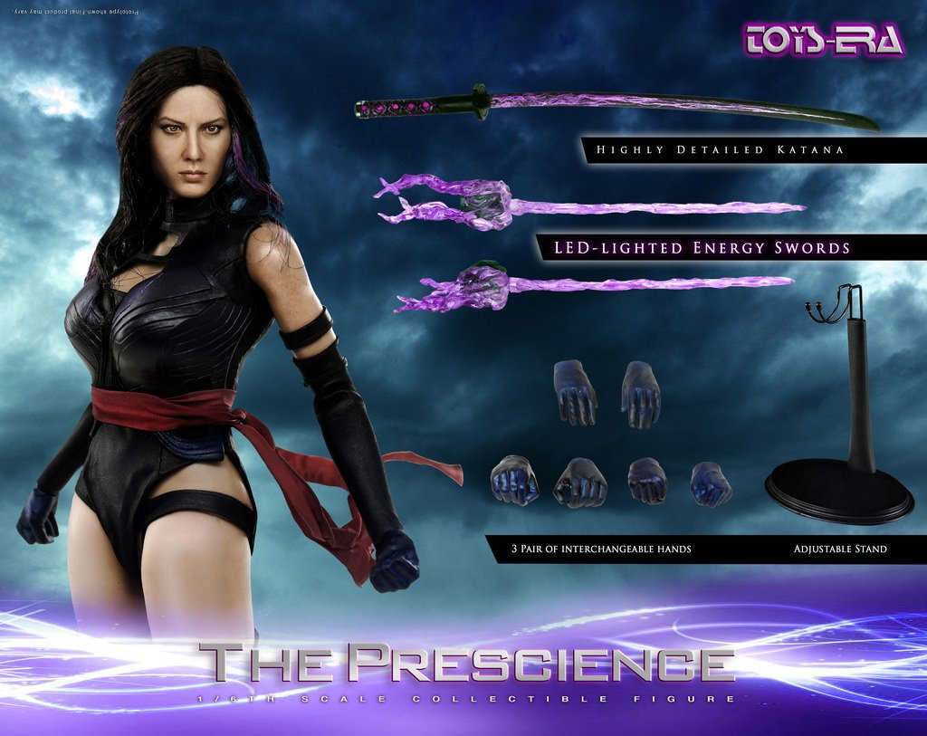 Te 022 1 6 Custom The Prescience Collectibles Figure By Toys Era
