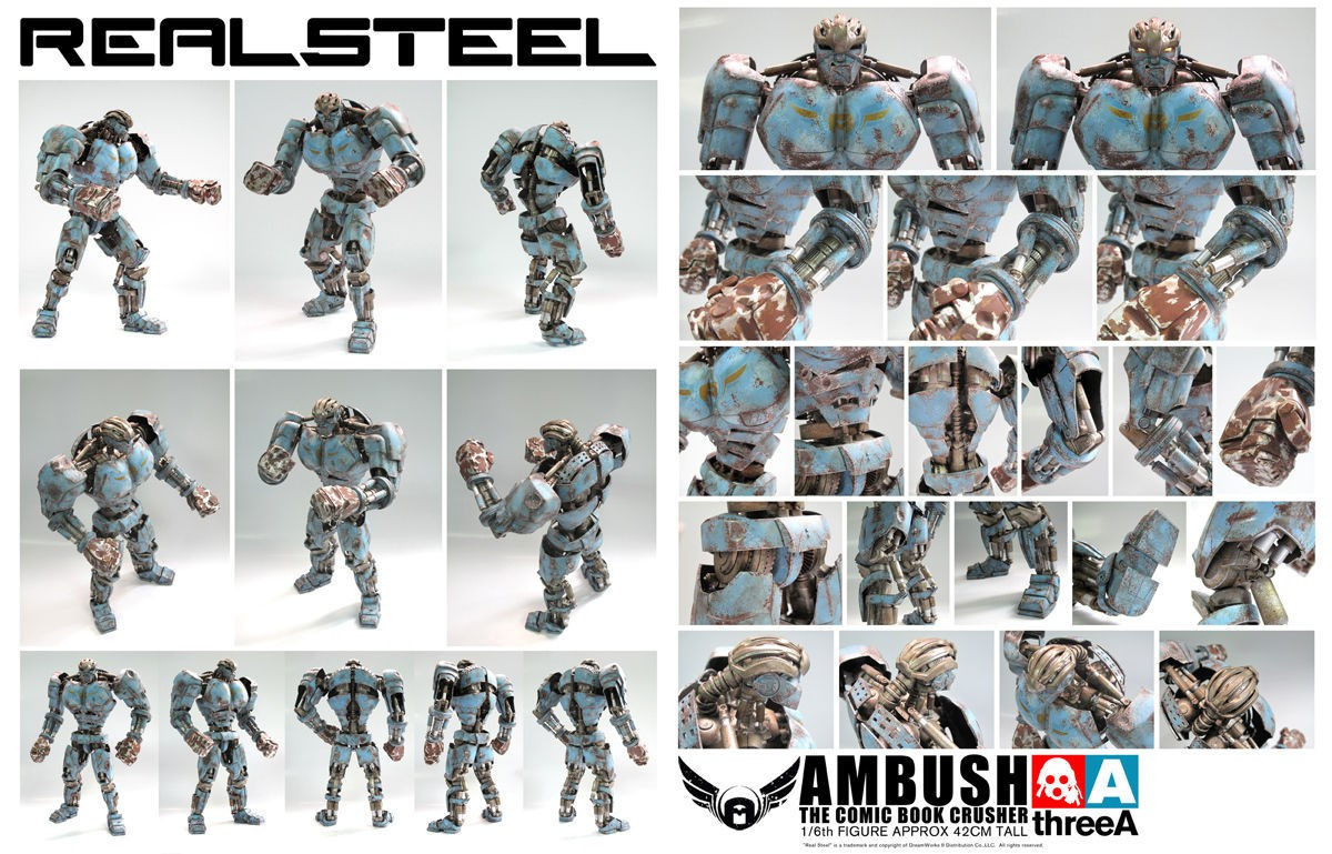 THREEA Real Steel Ambush Retail Version