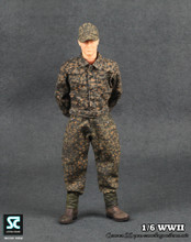 Soldier Country – WWII German SS Peas Camouflage Uniforms Suit (SC-1002)