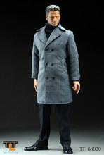 [TTL-68030] TTL Man Wearing Long Suit- Light Grey