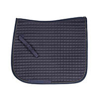 Dutchess Dressage Pad w/Bling in Navy
